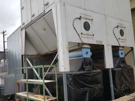 Large Reverse-Air Dust Extractor and Fan, 33,000 m3/hr, Fully Functional - picture5' - Click to enlarge