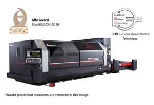 Amada VENTIS 4kW Fiber Laser - World's first next generation fibre laser
