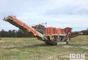 2018 Terex / Finlay J1175 Tracked Mobile Jaw Crusher Plant