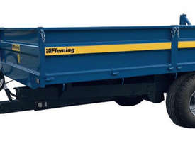 Fleming TR8 Trailer Farm Tipper/Trailer Hay/Forage Equip - picture1' - Click to enlarge