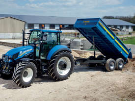 Fleming TR8 Trailer Farm Tipper/Trailer Hay/Forage Equip - picture2' - Click to enlarge