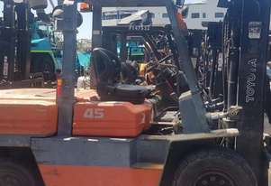 Used 4.5T Toyota Diesel Forklift