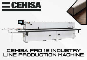 Download PDF For Pricing: Cehisa Pro-12 Industry Line Edgebander - Fast, Reliable and well priced.