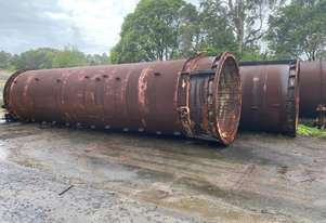 2500 mm ID heavy wall  pipe, 30 mm wall thickness, 15 m long