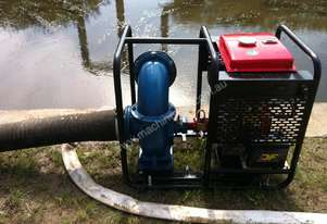6 inch Diesel Water Pump with flow 2300L per minute. Key start