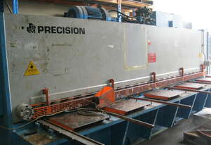 Precision 4 metre x 6.5mm Hydraulic Guillotine
