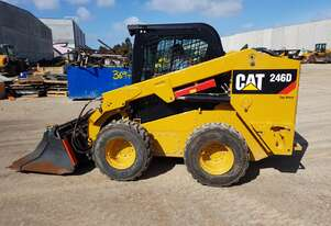 2019 DEMO CAT 246D SKID STEER LOADER WITH LOW 70 HOURS. FULL SPEC