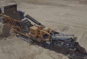 Striker HQR1312 Mobile Impact Crusher for hire
