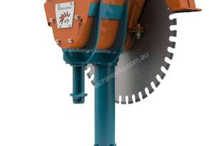 D2 Diamond rocksaw for Small Excavator 1.0 - 4t