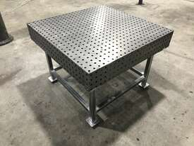 Welding table 1200x1200 - picture0' - Click to enlarge