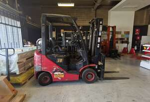Used Hangcha 1.8T 4.7M Gas Forklift for Sale