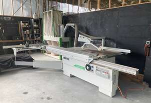 Biesse Active Panel Saw 3.2 with dust extraction