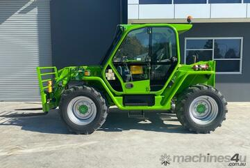 Merlo 38.10 Telehandler with Forks and Jib