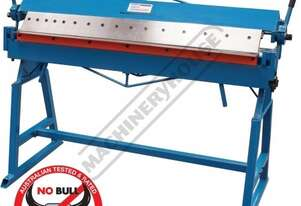 PB-4 Manual Panbrake 1220 x 1.2mm Mild Steel Bending Capacity Removable Individual Bending Fingers