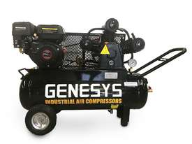 Petrol Engine Compressor 18CFM 70Lt - picture3' - Click to enlarge