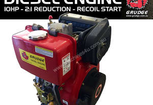 10 HP Diesel Engine 2:1 REDUCTION BOX