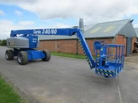 Genie Z80/60  80 foot Articulating Boom Lift - picture7' - Click to enlarge
