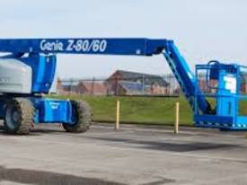 Genie Z80/60  80 foot Articulating Boom Lift - picture1' - Click to enlarge