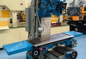 PUMA XL7036 BED MILL 3 AXIS DRO ISO40