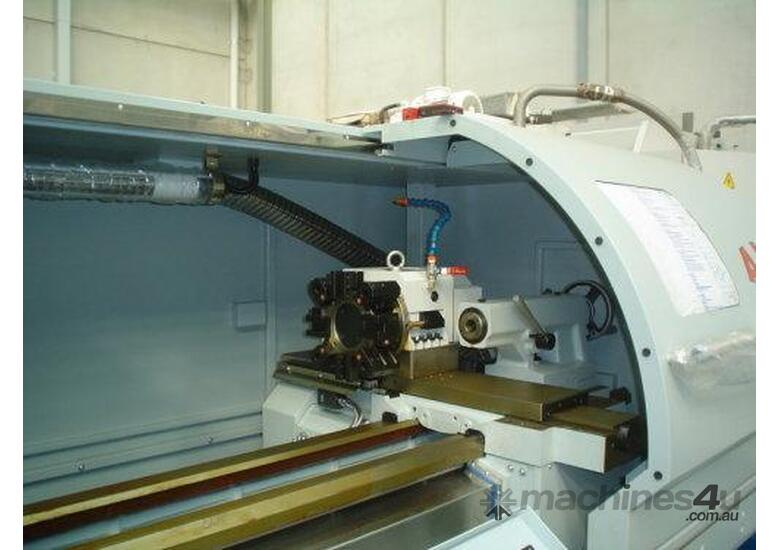 Ajax 460mm swing x 1.4M, 65mm bore CNC Lathe