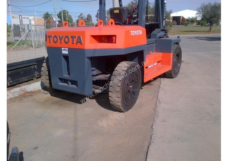 Used 1991 Toyota 10 Tonne Toyota Forklift Diesel Container
