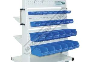 SR-DSL Mobile Storage Shelving Package Deal 3 Shelves / 3 Louvers Complete with Accessories