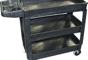 PSC-3T Plastic Service Cart 3 Trays