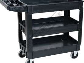 PSC-3T Plastic Service Cart 3 Trays 1010 x 435 x 840mm - picture0' - Click to enlarge