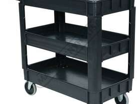 PSC-3T Plastic Service Cart 3 Trays 1010 x 435 x 840mm - picture3' - Click to enlarge
