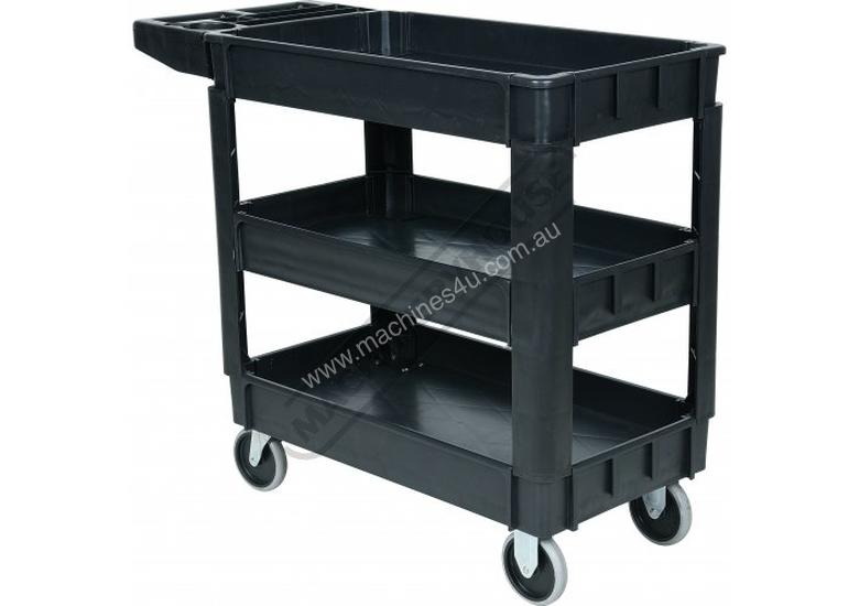 PSC-3T Plastic Service Cart 3 Trays 1010 x 435 x 840mm