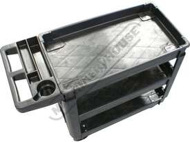 PSC-3T Plastic Service Cart 3 Trays - picture2' - Click to enlarge
