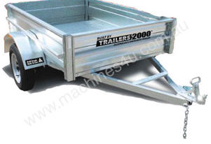 Trailer 8 x 5 Galvanised Heavy Duty