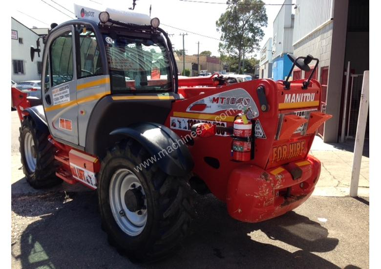 MANITOU MT 1840 TELEHANDLER FOR HIRE
