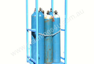 Dual Sided 100Kg Access Open Type Gas Storage Cage