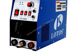 TIG200D 200A DC Tig/Stick Welder Square Wave