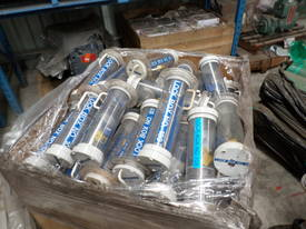 Pallet of Cylindrical Lockboxes