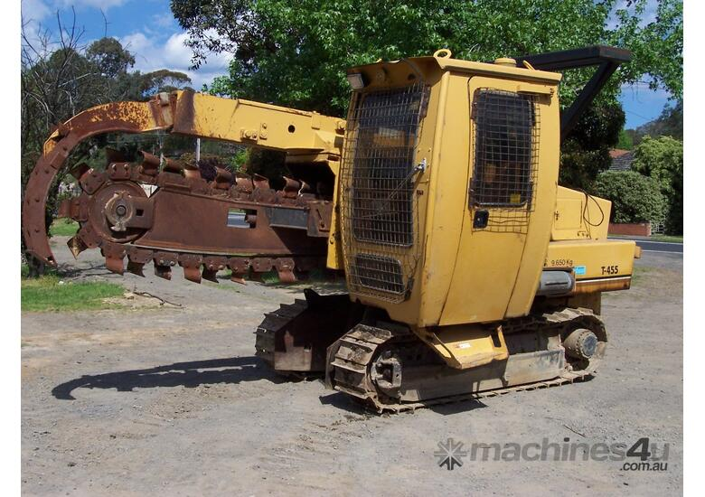 T-455 Air conditioned cabin Trencher , 1264 hrs