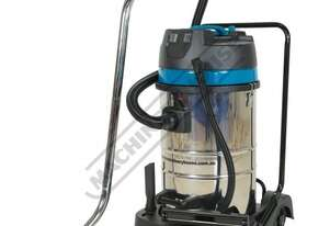 WDV-8 Industrial Wet and Dry Vacuum Cleaner 80 Litre Tank 2600 Litres per Minute Air Flow