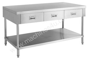 F.E.D. SWBD-7-1500 Work bench with 3 Drawers and Undershelf