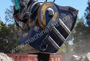 Excavator Crusher Bucket Hire Suit 20 Ton