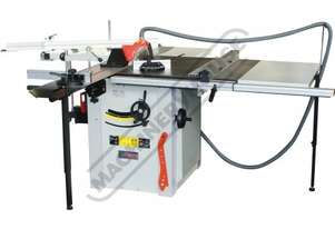 PS-1810 Panel Saw 820 x 800mm Cast Iron Table Ø315mm Saw Blade & Includes 1900mm Sliding Table