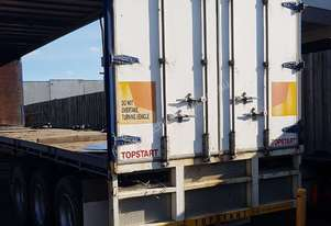 Semi Trailer Curtain side or flat top