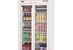 Williams Ruby Two Glass Door Fridge HRS2GDCB