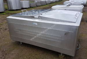 STAINLESS STEEL TANK, MILK VAT 1670 LT