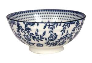 Gusta Out Of The Blue Stars Round Bowl Blue 120mm