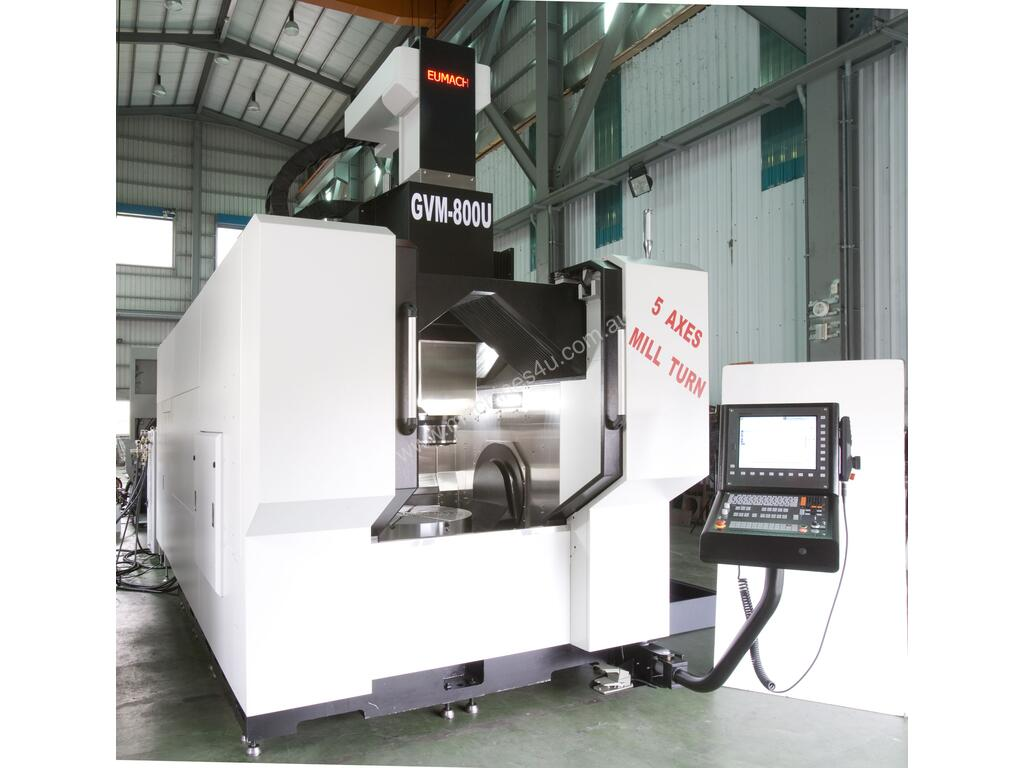 New eumach Gantry Type 5 Axis Machining Centre Turn Mill