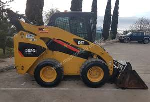 2012 CAT 262C SKIDSTEER WITH LOW 1200 HOURS