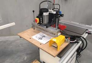 13 Spindle Pneumatic line Borer. Makes a hard job, easy.