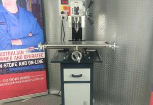 MP25L METEX PRO MILLING MACHINE- GEARED HEAD VARIABLE SPEED MILL DRILL DRILLING