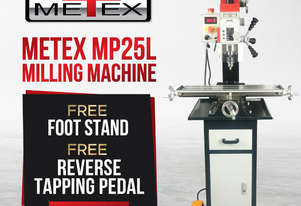 SALE!!!!MP25L METEX PRO MILLING MACHINE- GEARED HEAD VARIABLE SPEED MILL DRILL DRILLING